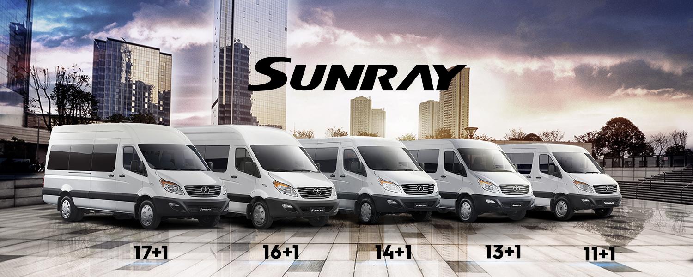 Sunray Pasajeros 16+1 Green Jet Limited