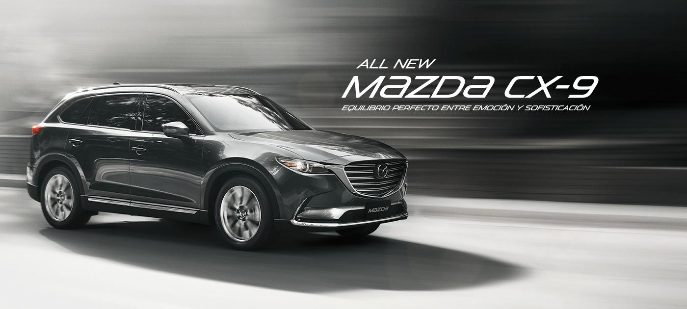 All New Mazda CX-9 GTX AWD 2.5L T CA 6AT (CN)